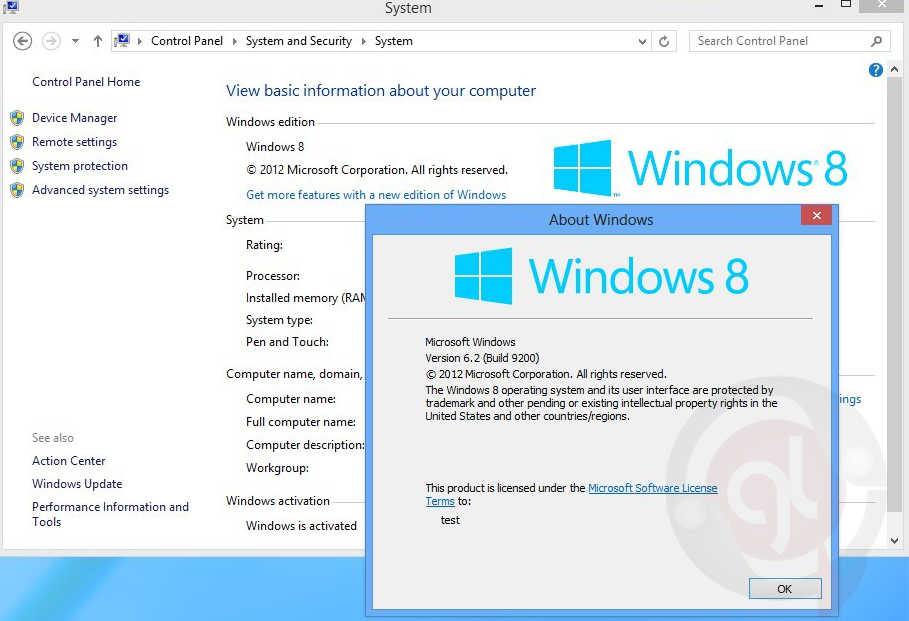 Windows 8 activator software free download full version